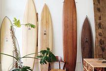 surfboard インテリア