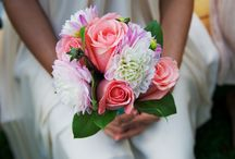 Bridal Bouquets / Floral, buttons, and more. My brides always amaze me with their stunning bouquets!