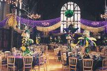 Mardi Gras Wedding Fun