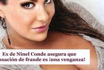 Ex de Ninel Conde asegura que acusación de fraude es ¡una venganza!