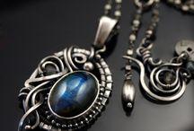 drátované šperky