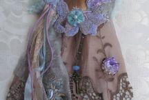 Textile art / Unusual decorative items using textiles