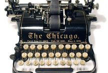 Vintage Typewriters & Camera's