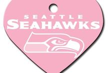 Seattle Seahawks Dogs / Seattle Seahawks Dog Collar: Clothes, Apparel, Lead & ID Tags - Hot Dog Collars