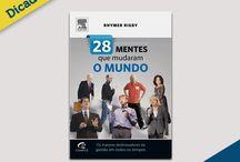Dicas de Livros / A WBI Brasil sugere, a cada semana, uma dica de leitura com base nas obras mais recomendas sobre empreendedorismo, marketing digital, gestão, estratégias, comportamento do consumidor, entre outros assuntos;