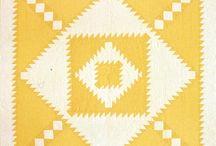 2 color quilts