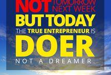 Entrepreneur Quotes / My favorite inspirational quotes for entrepreneurs