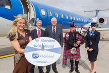 Aberdeen - Kristiansund new route launch / August 2013