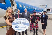 Aberdeen - Kristiansund new route launch / August 2013