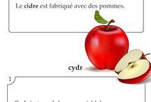"""Francuskie Słówka / Codzienna porcja francuskich słówek z kursu """"Francuski w Karteczkach""""."""