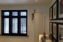 Full Height Shutters / Full Hieght Plantation Shutters, The Shutter Studio covers all areas in London and the South East fitting shutters. Our Showroom is based in Croydon, Surrey, with one of the largest collection of Shutters in London.