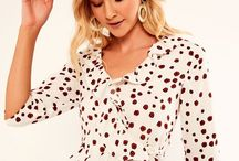 Polka Dots / P, p, pah, polka dots - timeless old school femininty. This is a classic trend for everyone to embrace.