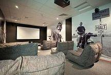 Мебель для кинотеаторв / Дизайнерская бескаркасная мебель Ambient Lounge® для кинотеаторв Дома и на улице
