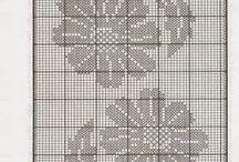 Cortinas crochet