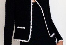 crochet, blouses, sweaters, jackets