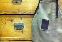 Vegetable Tanned Leather / Accessories in Vegetable Tanned Leather artisanal handmade Bags and Belts