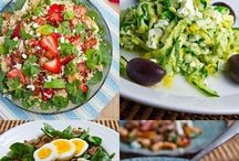 Salads / #healthy #salad #green #saludable #ensalada