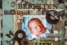 Baby Scrapbook Page / by Debby Anderson