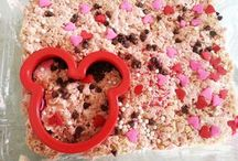 Minnie mouse rice crispie treat