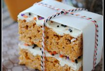 Krispie Treats / What to do with Rice Krispies.