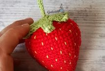Crochet strawberry :;)))