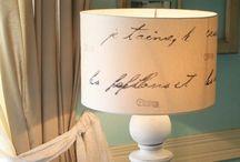 Lampshades / DIY lampshades