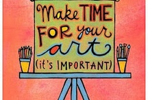 GOTTA LUV ARTISTS! / If I could paint, I would.  I'm an artists in a way but more the crafty type.  But....If I could paint, I would.