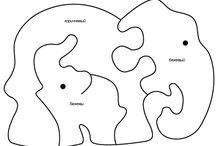 Kinder houtblok puzzles