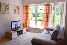 Apartment near Zoo /       Accomodation for 4 Persons     Sleeping room     1x Double bed / 1x Single bed / 1x Couch     1 Bath room with shower and WC     Kitchen     Ground floor     quiet residential area with southwest exposure     5 minutes by walk to the center     directly at Zoo Leipzig