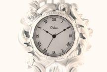 Vintage Clocks / Handmade vintage clocks in ceramics.