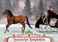 The Holiday Pleasures series / Four historical romances set during the Christmas season. Love, laughter, passion, HEAs. Now reissued as an ebook bundle.