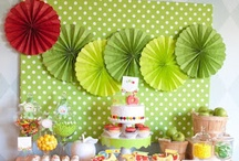 {Hungry Caterpillar} Party / Throw a Hungry Caterpillar Party - ideas and inspiration on www.partyfrosting.com / by Party Frosting