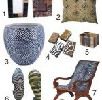 africa na decoração