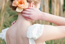 Peach and coral weddings