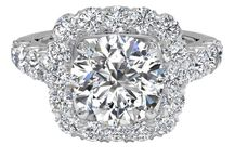 He Put A Ring On It / Engagement Rings With Sparkle And Bling / by Jaclyn Peters Designs