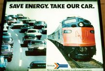 """All Aboard: Amtrak Train Collection / To commemorate Amtrak's 42nd Anniversary this year, we compiled this board to showcase the rich and interesting history of """"America's Railroad."""""""