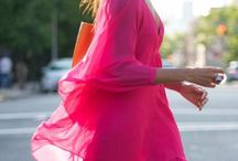 Pink and Orange Color Combo