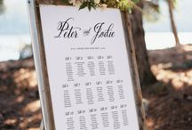 Amazing wedding seating chart ideas
