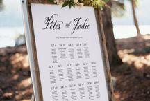 Amazing wedding seating chart ideas