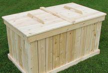 Bac de compostage en bois de cèdre