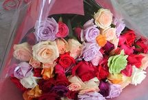 みやまバラ園オリジナル花束