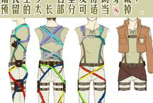 AOT cosplay preparation / Attack on Titan cosplay for my future Levi cosplay and one for Grell or Rin idk but I need those teeth