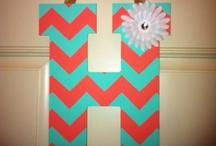 Letras decorativas - Decorative letters