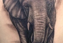 Tattoos with Elephants