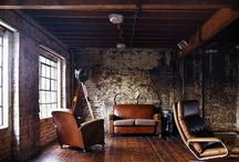 Rustic / Industrial . / by Marie-Pier Gagnon