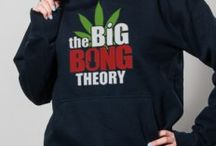 marihuana trička / Trika s motivem marihuany