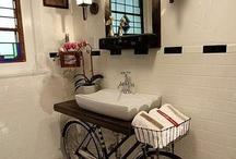 Bici arredo / Quando la bici è vecchia e non la si usa più potrebbe diventare una fantastica idea per la casa