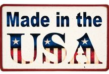 Made in America / Products that are proudly Made in America!