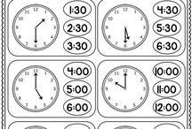 škola čas