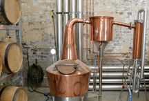 Gorgeous Gin Stills / Coppery beautiful shiny gin stills